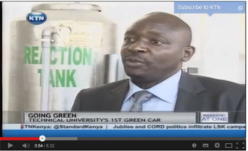 Technical University of Kenya launches first green vehicle