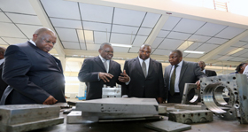 Republic of Congo Minister visits TU-K.jpg